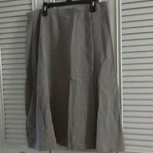 Giorgio Armani Gray Skirt
